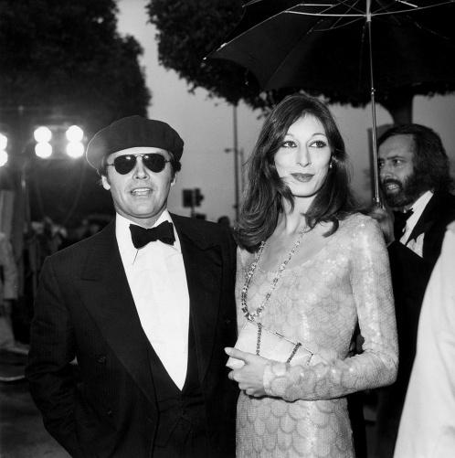 Anjelica Huston et Jack Nicholson