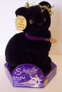 Salem le chat, peluche Sabrina l'apprentie sorcière