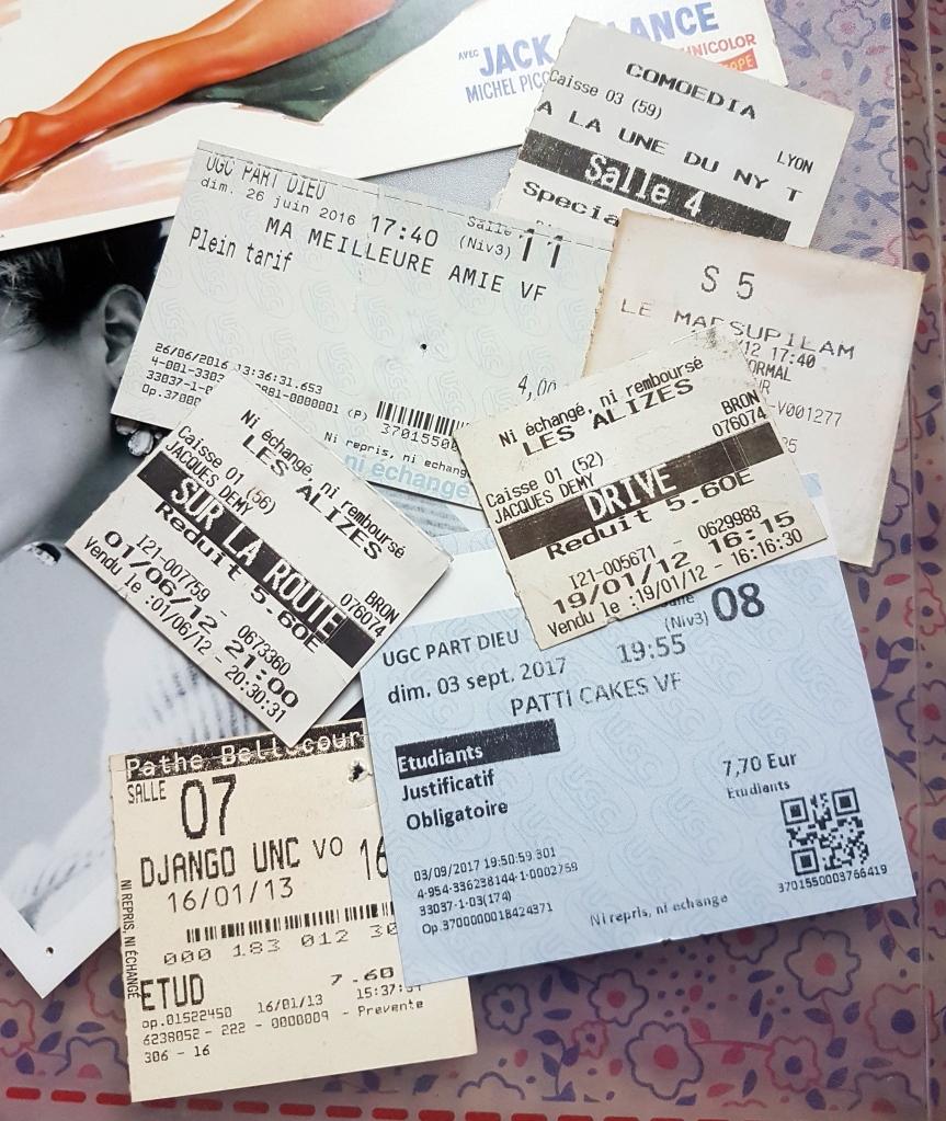 Tickets de cinéma